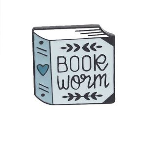 🎀3/$22🎀 Book Worm | Pin